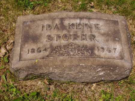 STOEHR, IDA KLINE - Stark County, Ohio | IDA KLINE STOEHR - Ohio Gravestone Photos