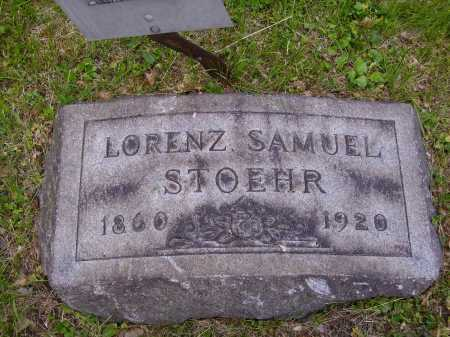 STOEHR, LORENZ SAMUEL - Stark County, Ohio | LORENZ SAMUEL STOEHR - Ohio Gravestone Photos