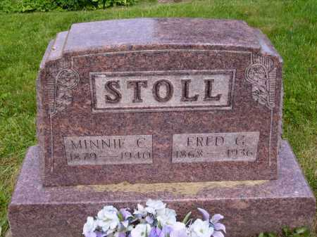 STOLL, MINNIE C. - Stark County, Ohio | MINNIE C. STOLL - Ohio Gravestone Photos