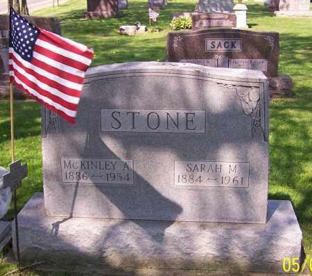 STONE, MCKINLEY A. - Stark County, Ohio | MCKINLEY A. STONE - Ohio Gravestone Photos