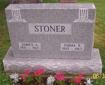 STONER, JAMES A. - Stark County, Ohio | JAMES A. STONER - Ohio Gravestone Photos