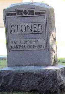 STONER, MARTHA - Stark County, Ohio | MARTHA STONER - Ohio Gravestone Photos