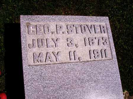 STOVER, GEORGE P. - Stark County, Ohio | GEORGE P. STOVER - Ohio Gravestone Photos