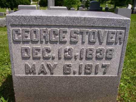 STOVER, GEORGE - Stark County, Ohio | GEORGE STOVER - Ohio Gravestone Photos