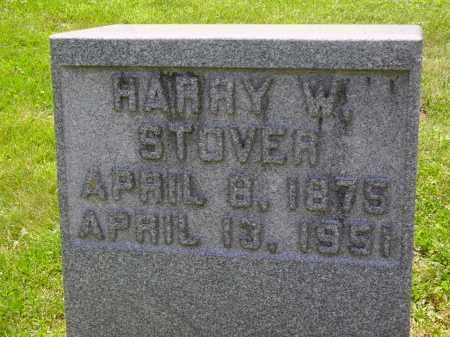 STOVER, HARRY W. - Stark County, Ohio | HARRY W. STOVER - Ohio Gravestone Photos