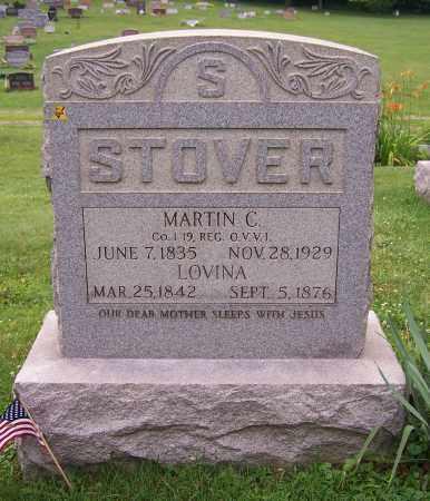 STOVER, LOVINA - Stark County, Ohio | LOVINA STOVER - Ohio Gravestone Photos