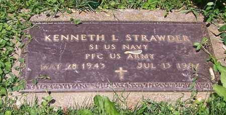 STRAWDER, KENNETH L.  (MIL) - Stark County, Ohio | KENNETH L.  (MIL) STRAWDER - Ohio Gravestone Photos