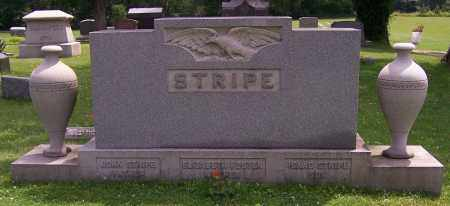 STRIPE, ISAAC - Stark County, Ohio | ISAAC STRIPE - Ohio Gravestone Photos