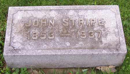 STRIPE, JOHN - Stark County, Ohio | JOHN STRIPE - Ohio Gravestone Photos