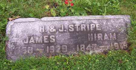 STRIPE, JAMES - Stark County, Ohio | JAMES STRIPE - Ohio Gravestone Photos