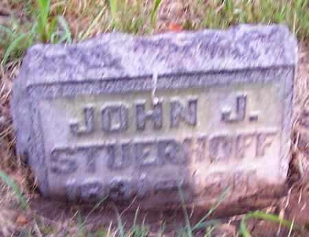 STUERHOFF, JOHN J. - Stark County, Ohio | JOHN J. STUERHOFF - Ohio Gravestone Photos