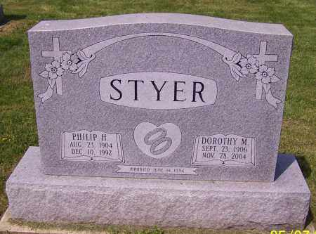 STYER, DOROTHY M. - Stark County, Ohio | DOROTHY M. STYER - Ohio Gravestone Photos