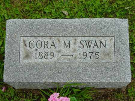 KENDALL SWAN, CORA MINNIE - Stark County, Ohio | CORA MINNIE KENDALL SWAN - Ohio Gravestone Photos