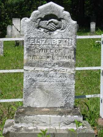 RUFF SWAN, ELIZABETH - Stark County, Ohio | ELIZABETH RUFF SWAN - Ohio Gravestone Photos