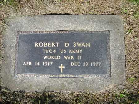 SWAN, ROBERT D. - Stark County, Ohio | ROBERT D. SWAN - Ohio Gravestone Photos