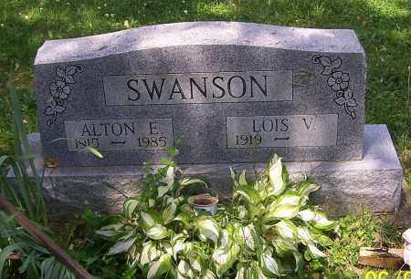 SWANSON, ALTON E. - Stark County, Ohio | ALTON E. SWANSON - Ohio Gravestone Photos
