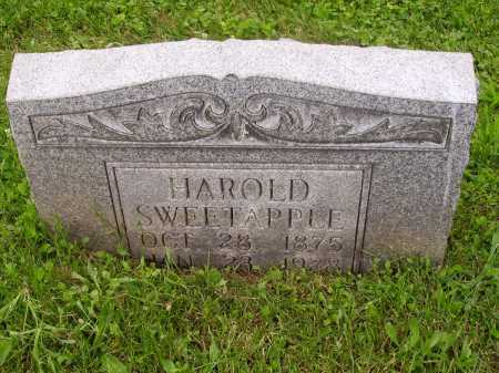 SWEETAPPLE, HAROLD - Stark County, Ohio | HAROLD SWEETAPPLE - Ohio Gravestone Photos