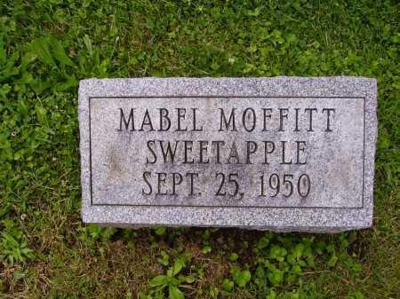 MOFFITT SWEETAPPLE, MABEL - Stark County, Ohio | MABEL MOFFITT SWEETAPPLE - Ohio Gravestone Photos