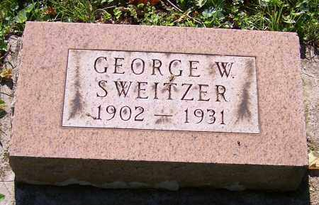SWEITZER, GEORGE W. - Stark County, Ohio | GEORGE W. SWEITZER - Ohio Gravestone Photos