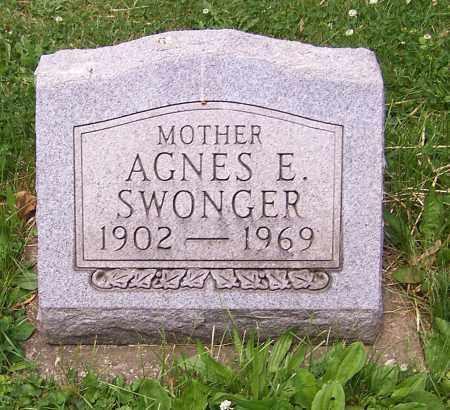 SWONGER, AGNES E. - Stark County, Ohio | AGNES E. SWONGER - Ohio Gravestone Photos