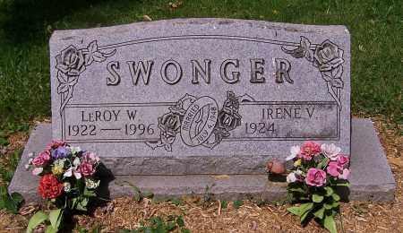 SWONGER, LEROY W. - Stark County, Ohio | LEROY W. SWONGER - Ohio Gravestone Photos