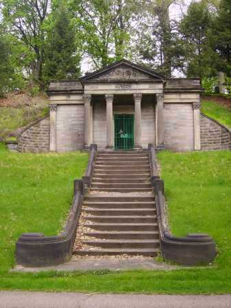 SYNDER MAUSOLEUM 1904, FRONT VIEW - Stark County, Ohio   FRONT VIEW SYNDER MAUSOLEUM 1904 - Ohio Gravestone Photos