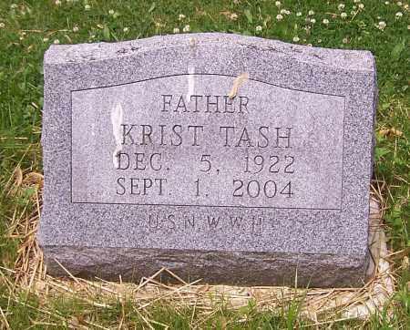 TASH, KRIST - Stark County, Ohio | KRIST TASH - Ohio Gravestone Photos
