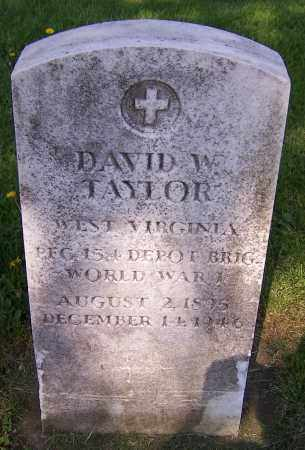 TAYLOR, DAVID W. - Stark County, Ohio | DAVID W. TAYLOR - Ohio Gravestone Photos
