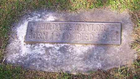BATES TAYLOR, HILDA C. - Stark County, Ohio | HILDA C. BATES TAYLOR - Ohio Gravestone Photos