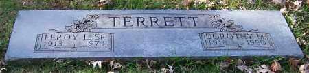 TERRETT, LEROY L. SR. - Stark County, Ohio | LEROY L. SR. TERRETT - Ohio Gravestone Photos