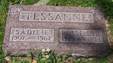 TESSANNE, RUSSELL D. - Stark County, Ohio | RUSSELL D. TESSANNE - Ohio Gravestone Photos
