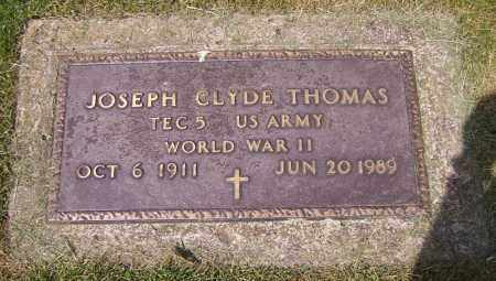 THOMAS, JOSEPH CLYDE - Stark County, Ohio | JOSEPH CLYDE THOMAS - Ohio Gravestone Photos