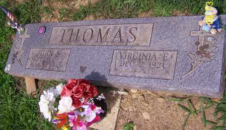 THOMAS, VIRGINIA E. - Stark County, Ohio | VIRGINIA E. THOMAS - Ohio Gravestone Photos