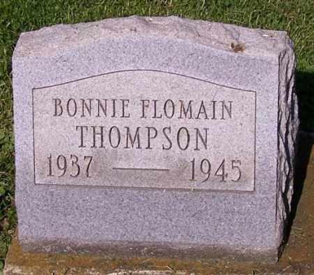 THOMPSON, BONNIE FLOMAIN - Stark County, Ohio | BONNIE FLOMAIN THOMPSON - Ohio Gravestone Photos