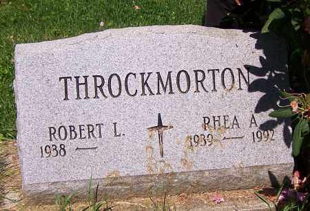 THROCKMORTON, ROBERT L. - Stark County, Ohio | ROBERT L. THROCKMORTON - Ohio Gravestone Photos