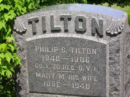 TILTON, MARY M. - Stark County, Ohio | MARY M. TILTON - Ohio Gravestone Photos