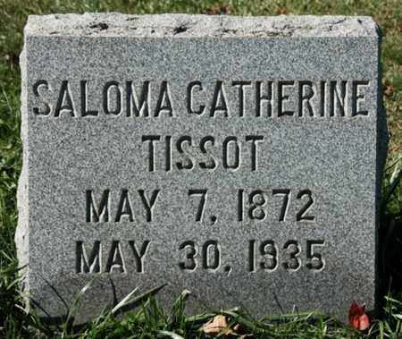 WENTLING TISSOT, SALOMA CATHERINE - Stark County, Ohio | SALOMA CATHERINE WENTLING TISSOT - Ohio Gravestone Photos