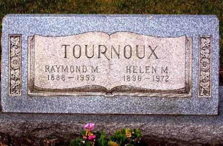 TOURNOUX, HELEN M. - Stark County, Ohio | HELEN M. TOURNOUX - Ohio Gravestone Photos