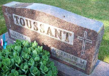 TOUSSANT, HARRY F. - Stark County, Ohio | HARRY F. TOUSSANT - Ohio Gravestone Photos