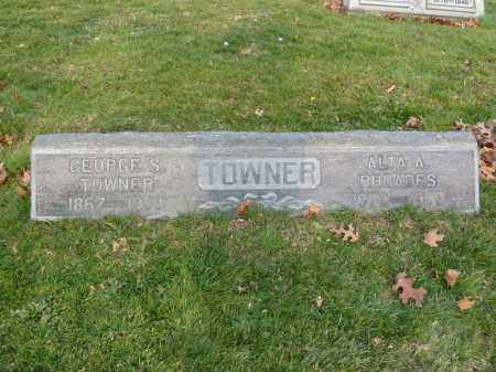 TOWNER, GEORGE S. - Stark County, Ohio | GEORGE S. TOWNER - Ohio Gravestone Photos