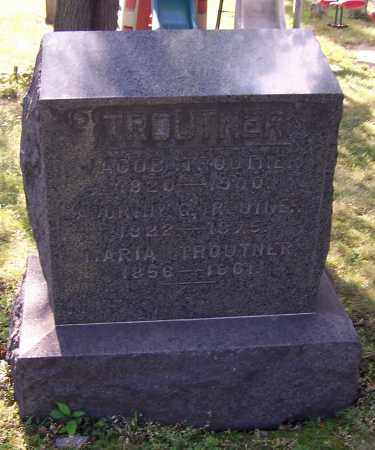 TROUTNER, DORTHY - Stark County, Ohio | DORTHY TROUTNER - Ohio Gravestone Photos
