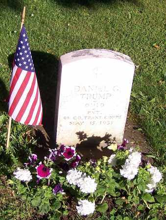 TRUMP, DANIEL GILBERT - Stark County, Ohio | DANIEL GILBERT TRUMP - Ohio Gravestone Photos