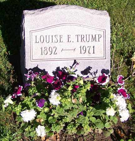 TRUMP, LOUISE E. - Stark County, Ohio | LOUISE E. TRUMP - Ohio Gravestone Photos