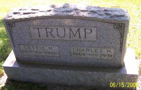 TRUMP, CHARLES W. - Stark County, Ohio | CHARLES W. TRUMP - Ohio Gravestone Photos