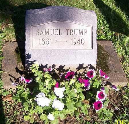 TRUMP, SAMUEL - Stark County, Ohio | SAMUEL TRUMP - Ohio Gravestone Photos