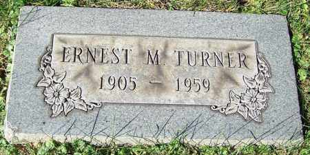 TURNER, ERNEST M. - Stark County, Ohio | ERNEST M. TURNER - Ohio Gravestone Photos