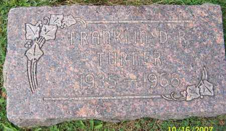 TURNER, FRANKLIN D.R. - Stark County, Ohio | FRANKLIN D.R. TURNER - Ohio Gravestone Photos