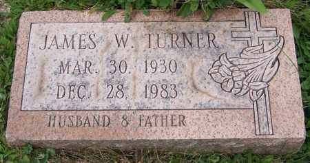 TURNER, JAMES W. - Stark County, Ohio | JAMES W. TURNER - Ohio Gravestone Photos