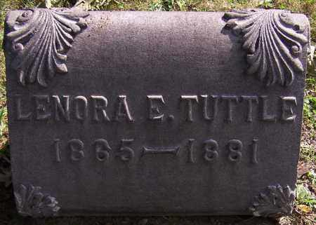 TUTTLE, LENORA E. - Stark County, Ohio | LENORA E. TUTTLE - Ohio Gravestone Photos