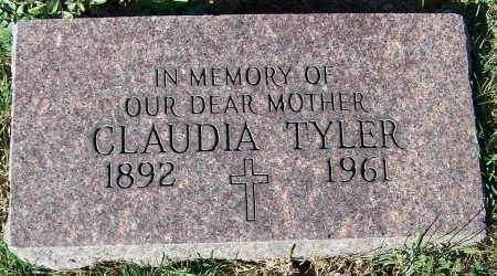 TYLER, CLAUDIA - Stark County, Ohio | CLAUDIA TYLER - Ohio Gravestone Photos